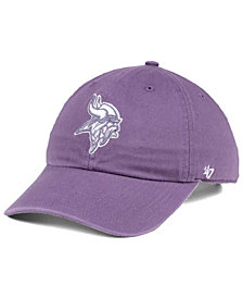'47 Brand Women's Minnesota Vikings Pastel CLEAN UP Cap