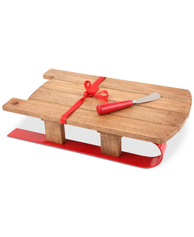 CLOSEOUT! Thirstystone Sled Serving Board with Spreader