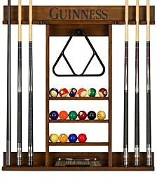 Guinness Pool Table Accessory Cue Rack, Quick Ship