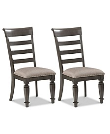 CLOSEOUT! Nadeen Side Chair (Set Of 2), Quick Ship