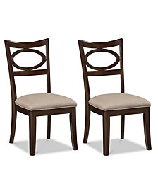 CLOSEOUT! Parline Side Chair (Set Of 2), Quick Ship
