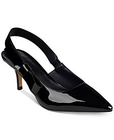 Marc Fisher Judge Slingback Bow Pumps