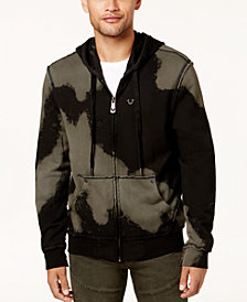 True Religion Men's Tie-Dyed Full-Zip Hoodie
