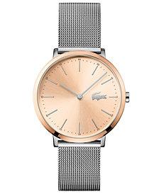 Lacoste Women's Moon Ultra Slim Stainless Steel Bracelet Watch 35mm