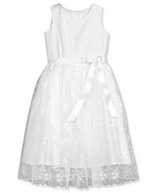 Lavender by Floral Embroidered Dress, Toddler Girls