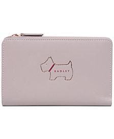 Radley London Heritage Dog Outline Medium Zip-Top Wallet