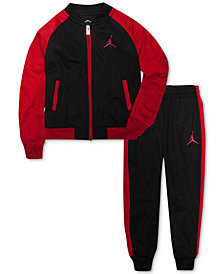 Jordan 2-Pc. Activewear Jacket & Pants Set, Little Boys