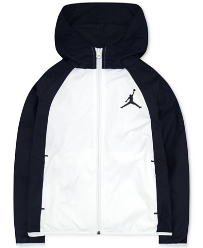 Jordan Packable Windbreaker Jacket, Big Boys - Coats & Jackets ...