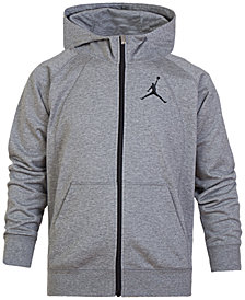 Jordan Big Boys Fleece Full-Zip Hoodie