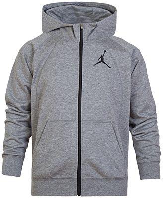 Jordan Big Boys Fleece Full Zip Hoodie Sweaters Kids Macys