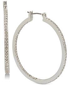 Kenneth Cole New York Pavé Hoop Earrings