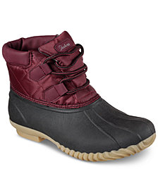 Skechers Women's Hampshire Boots from Finish Line