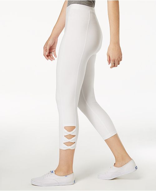 69e2f3b23e691 Style & Co Twisted Cutout Leggings, Created for Macy's & Reviews ...