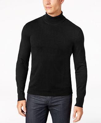 Alfani Mens Turtleneck Sweater Created For Macys T Shirts Men