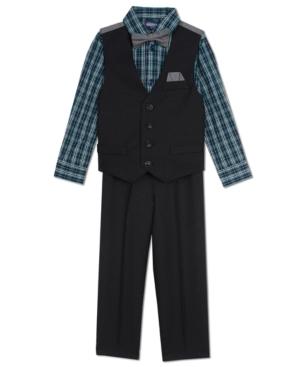 Nautica 4Pc Vest Set Baby Boys (024 months)