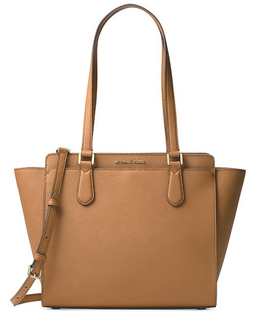 54d5b4b66923 Michael Kors Dee Dee Medium Convertible Tote & Reviews - Handbags ...