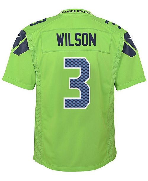 6317d6ca Nike Russell Wilson Seattle Seahawks Color Rush Jersey, Toddler Boys ...