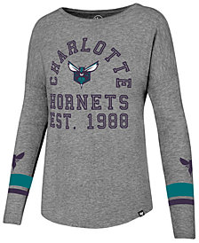 '47 Brand Women's Charlotte Hornets Encore Long Sleeve T-Shirt
