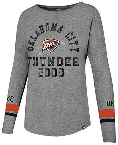 '47 Brand Women's Oklahoma City Thunder Encore Long Sleeve T-Shirt