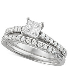 Diamond Princess Bridal Set (1-1/4 ct. t.w.) in 14k White Gold