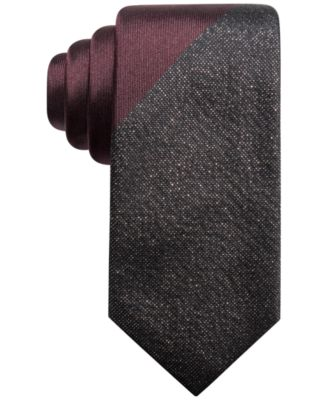 Men's Panel Slim Tie, Created for Macy's