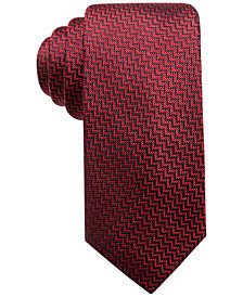 "Alfani Men's Red 2.75"" Slim Tie, Created for Macy's"