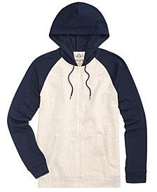 American Rag Men's Raglan Full-Zip Hoodie, Created for Macy's