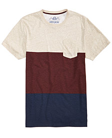 American Rag Men's Winter Stripe T-Shirt, Created for Macy's