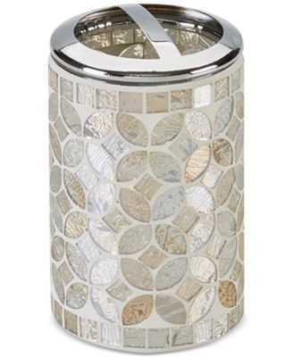 Cape Mosaic Toothbrush Holder, Created for Macy's