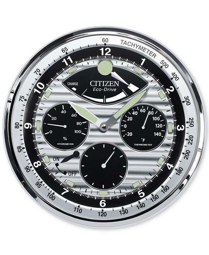 Citizen - Gallery Silver-Tone Wall Clock