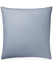 "Hotel Collection Diamond Stripe 20"" Square Decorative Pillow"