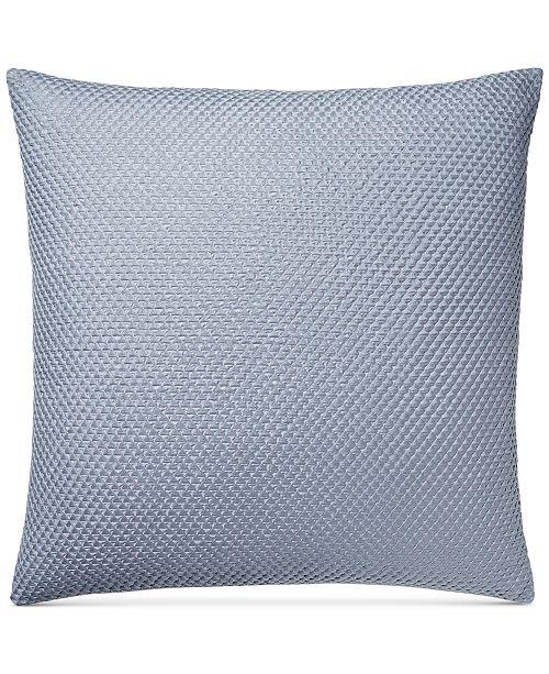 Hotel Collection Diamond Stripe 40 Square Decorative Pillow Simple Black Friday Decorative Pillows
