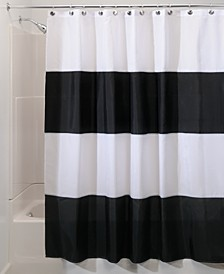 "Zeno Stripe 72"" x 84"" Shower Curtain"