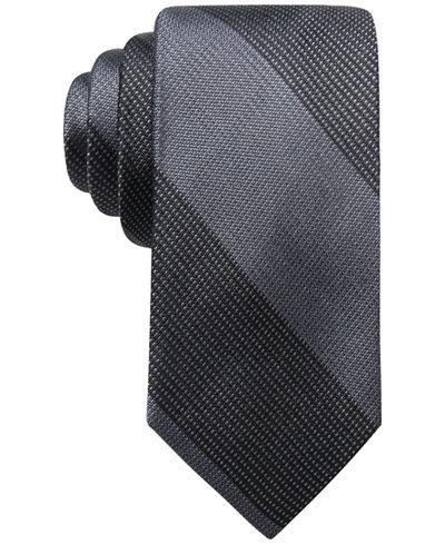 Ryan Seacrest Distinction™ Men's Zion Bar Stripe Silk Tie, Created for Macy's