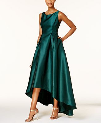 Adrianna Papell High Low Ball Gown Dresses Women Macy S