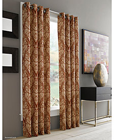 "J Queen New York Roosevelt 50"" x 84"" Grommet Curtain Panel"