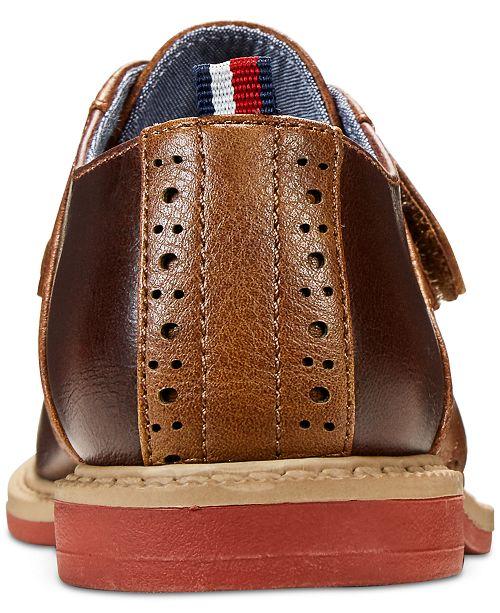98db7098 Tommy Hilfiger Michael Saddle-T Dress Shoes, Toddler Boys & Little ...