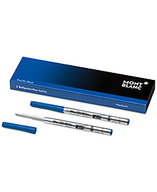 Montblanc Pacific Blue Medium Ballpoint Pen Refills