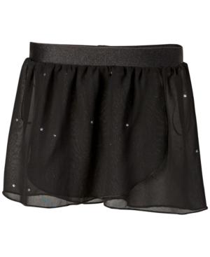 Flo Dancewear Embellished Georgette Wrap Skirt Little Girls  Big Girls