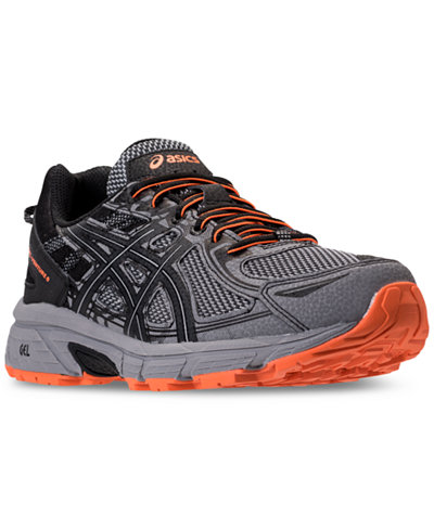 Asics Men's GEL-Venture 6 Trail Running Sneakers from Finish Line