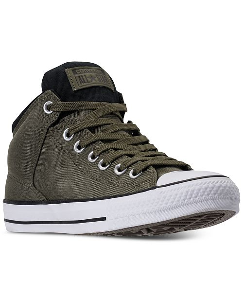 9058b7e0f4fc ... Converse Men s Chuck Taylor All Star High Street Casual Sneakers from  Finish ...