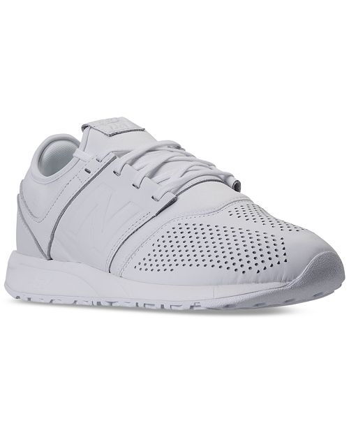 8f05f99af2037 New Balance Men's 247 Leather Casual Sneakers from Finish Line ...