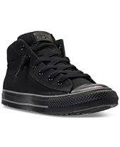 e9fdbf23 Converse Men's Chuck Taylor All Star Street Mid Casual Sneakers From Finish  Line