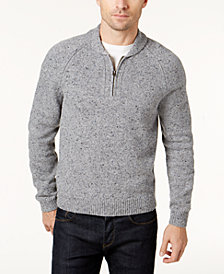 Brooks Brothers Red Fleece Men's Donegal Shawl-Collar Sweater