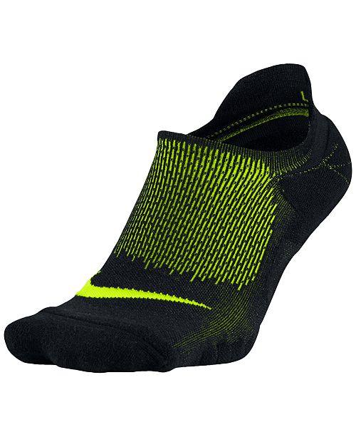 c0e9dda4e Nike Elite Cushioned No-Show Running Socks & Reviews - Underwear ...