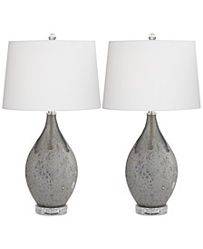 by Pacific Coast Set of 2 Volcanic Table Lamps