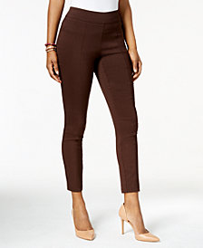 Style & Co Seamed Skinny Pants, Created for Macy's
