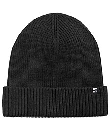 Men's Ribbed-Cuff Beanie