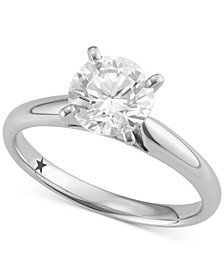 Solitaire Engagement Ring (1-1/2 ct. t.w.) in 14k Gold or White Gold