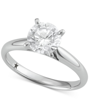 Solitaire Engagement Ring (1-1/2 ct. t.w.) in 14k White Gold